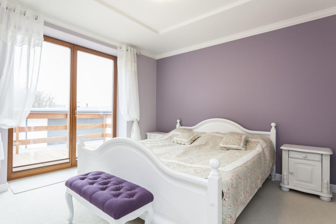 Dekoracja okna ciekawe aran acje inspiracje pasamona - Color paredes dormitorio ...